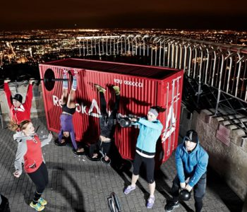 Reebok prezentuje spektakularny trening Crossfit na szczycie Empire State Building