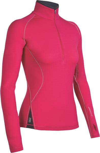 Sportowe ubrania z wełny merino na narty