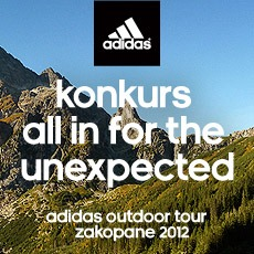 "Konkurs adidas – ""all in for the unexpected"""