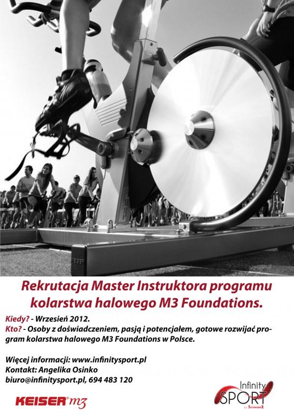 Rekrutacja Master Instruktora Keiser M3 Foundations