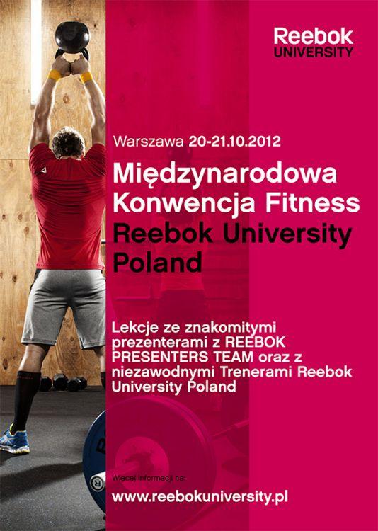 Międzynarodowa Konwencja Fitness Reebok University