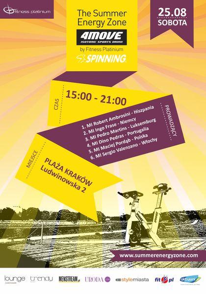 The Summer Energy Zone w sercu Krakowa