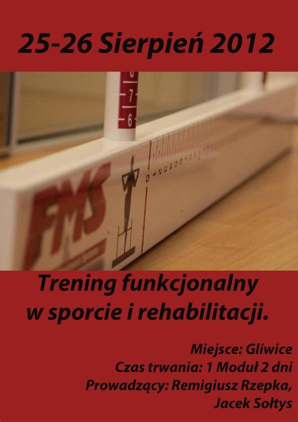 Trening Funkcjonalny w Sporcie i Rehabilitacji
