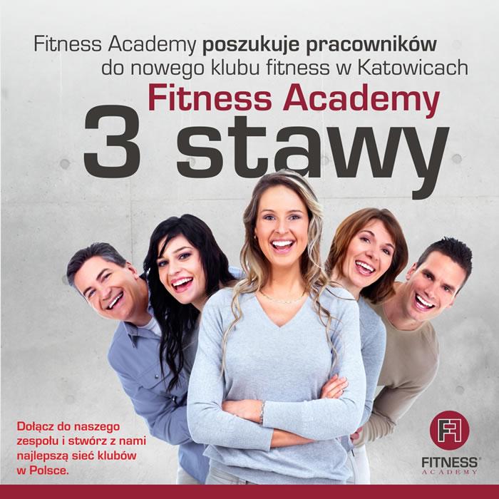 Fitness Academy poszukuje pracowników