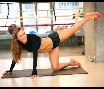 Ćwiczenia Sylwii Wiesenberg na seksowne nogi i pośladki