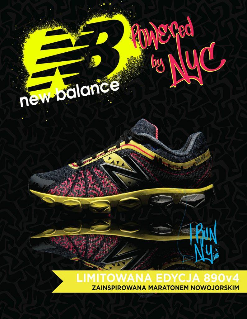 New Balance 890v4 Limitowana Edycja już w sprzedaży!