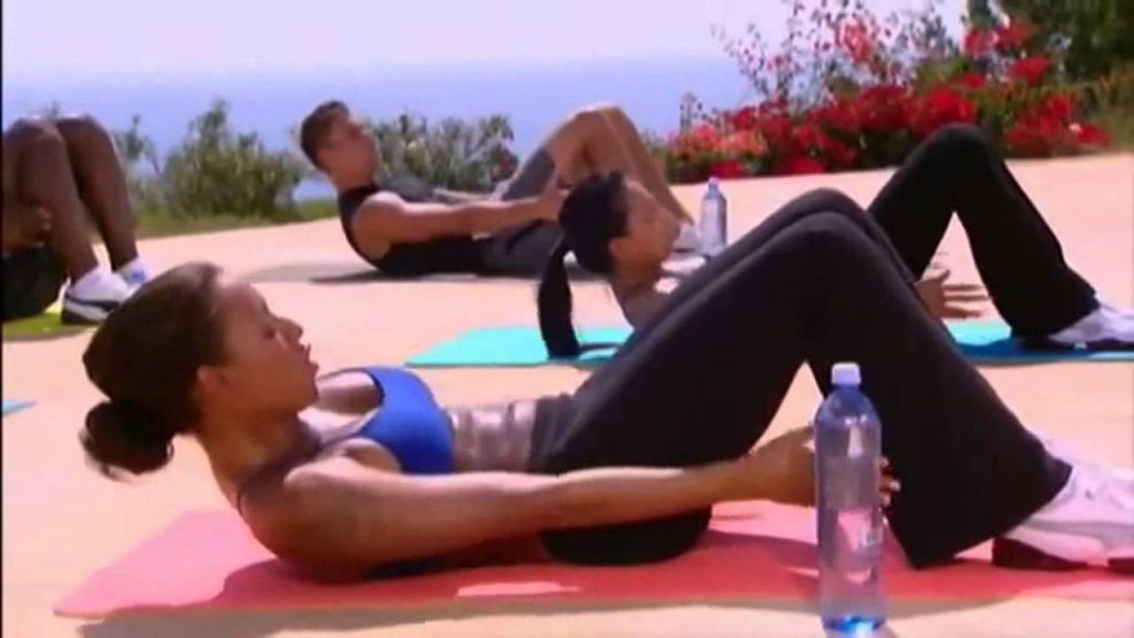 Mel B – 10 minutowy trening brzucha