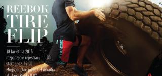 Gigantyczna opona kontra miłośnicy CrossFitu w charytatywnej rywalizacji podczas Reebok Tire Flip
