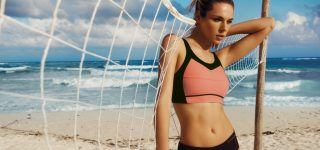 Idealnie dopasowany biustonosz sportowy – must have każdej aktywnej kobiety.